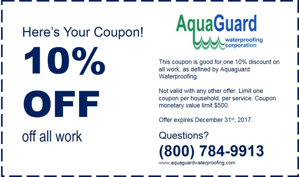 Aquaguard discount coupon