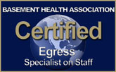 Aquaguard Waterproofing Corporation Certified Egress Specialist Logo