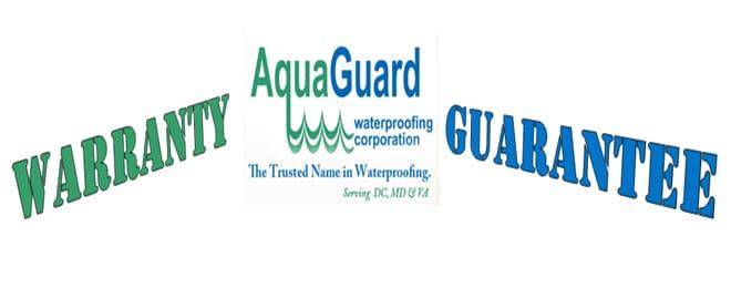 AquaGuard Waterproofing | Warranty