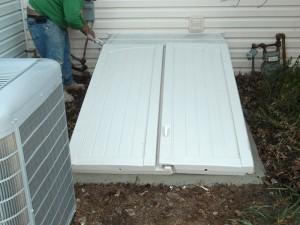 Bilco basement doors | Beltsville, MD | AquaGuard Waterproofing