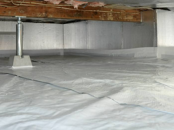 Crawlspace Waterproofing Why You Need A Closed Drainage