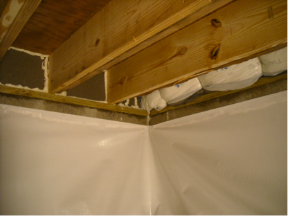 Crawlspace Waterproofing | Germantown, MD | AquaGuard Waterproofing Corp